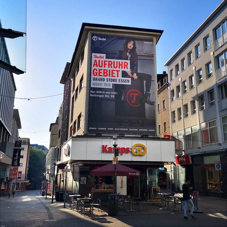 Teufel Brand Store Essen