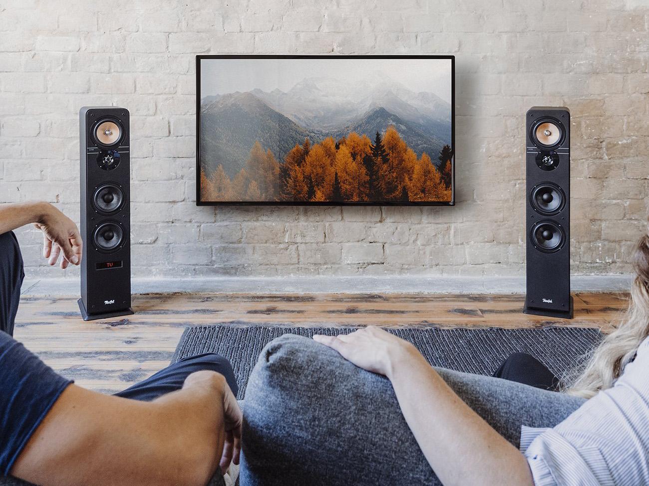 Stereo-Standlautsprecher Ultima 40 Aktiv