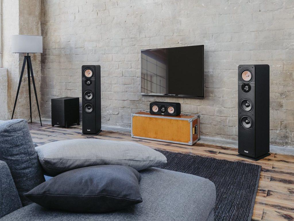 """Teufel Ultima 40 Surround AVR für Dolby Atmos """"5.1.2-Set"""""""