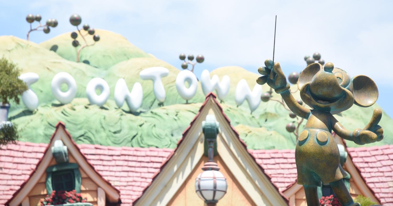 Mickey Maus in Disneyland.