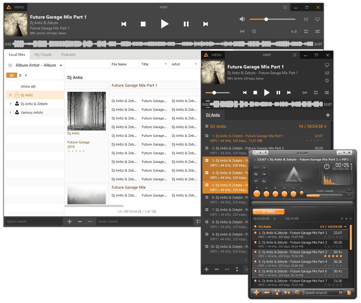 Screenshot AIMP Audio-Player