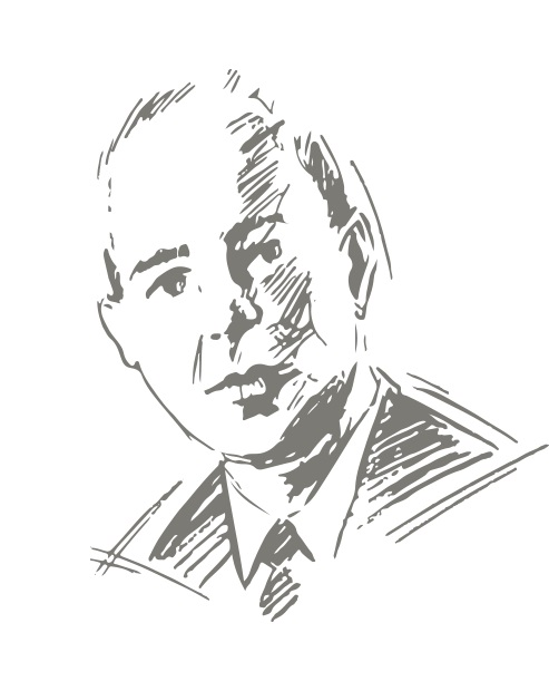 Skizze Saul Bernard