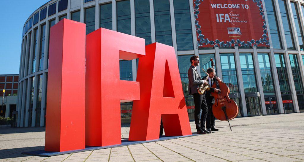 IFA 2020 Eingang Süd Messe Berlin