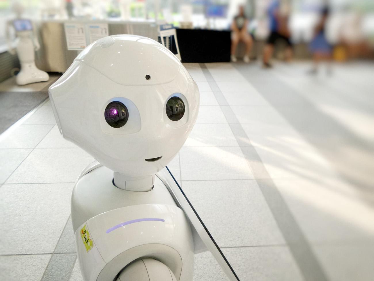 Menschenähnlicher Roboter