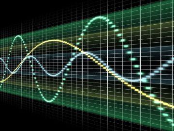 Grafik Audio-Wellen